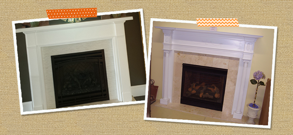 Readybuilt makes quality custom wood mantels for fireplace shelving